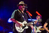 Hank Williams Jr performs during the 2016 CMA Music Festival at Nissan Stadium on June 10 2016 in Nashville Tennessee