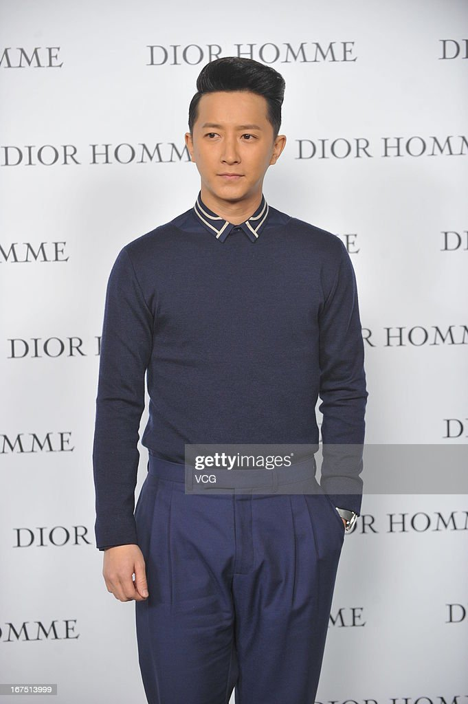 Hankyung attends the Dior Homme F/W 2013 Menswear Collection Show on April 25, 2013 in Beijing, China.
