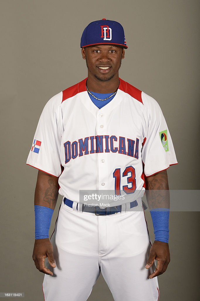 Hanley Ramirez #13 of Team Dominican Republic poses for a headshot for the 2013 World Baseball Classic on March 4, 2013 at George M. Steinbrenner Field in Tampa, Florida.
