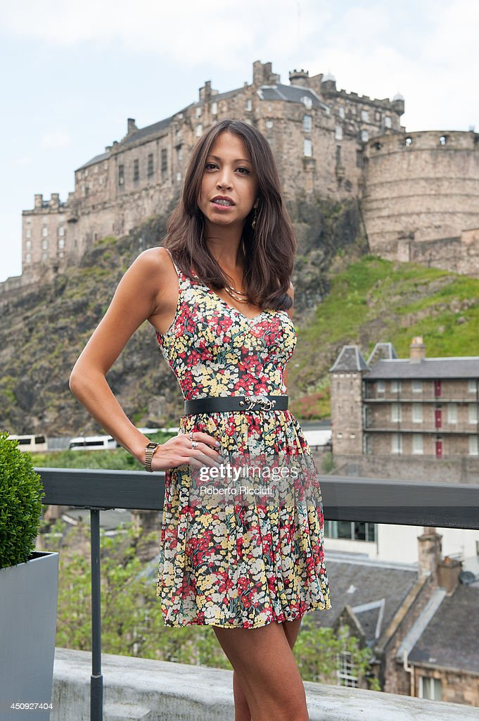 Hanna Stanbridge attends 'Let us pray' photocall at Apex International Hotel during the Edinburgh International Film Festival on June 20, 2014 in Edinburgh, Scotland.