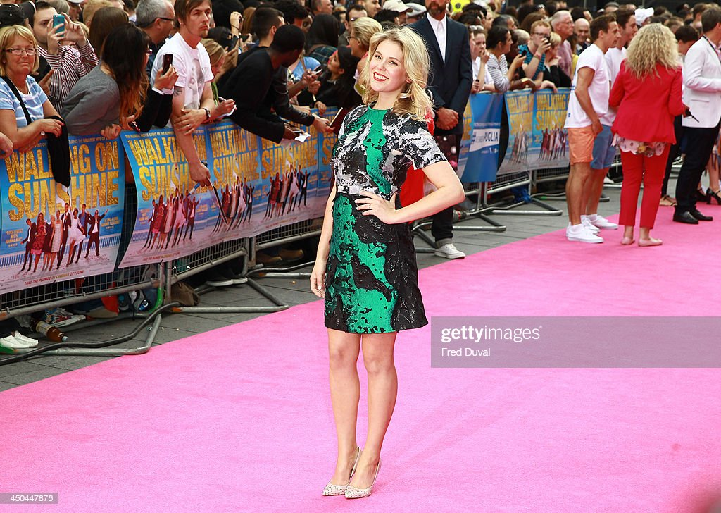 Hannah Arterton attends the UK Premiere of 'Walking On Sunshine' at Vue West End on June 11, 2014 in London, England.