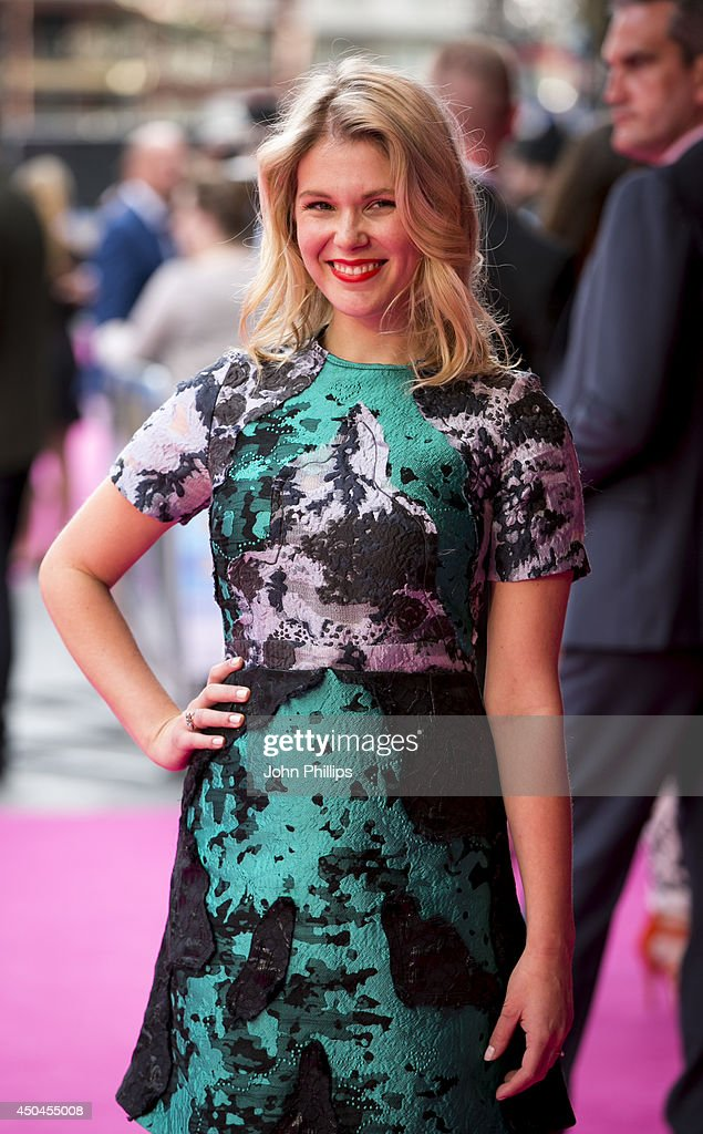 Hannah Aterton attends the UK Premiere of 'Walking On Sunshine' at Vue West End on June 11, 2014 in London, England.