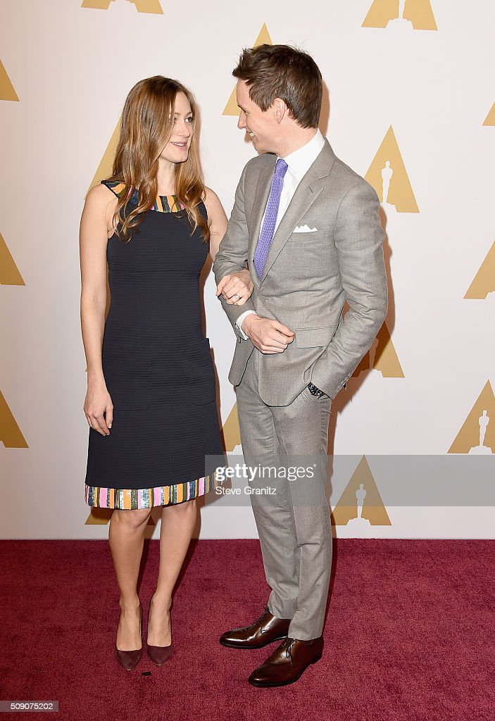 <a gi-track='captionPersonalityLinkClicked' href=/galleries/search?phrase=Hannah+Bagshawe&family=editorial&specificpeople=9973241 ng-click='$event.stopPropagation()'>Hannah Bagshawe</a> (L) and actor <a gi-track='captionPersonalityLinkClicked' href=/galleries/search?phrase=Eddie+Redmayne&family=editorial&specificpeople=2554844 ng-click='$event.stopPropagation()'>Eddie Redmayne</a> attend the 88th Annual Academy Awards nominee luncheon on February 8, 2016 in Beverly Hills, California.