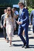 London Celebrity Sightings -  July 15, 2018