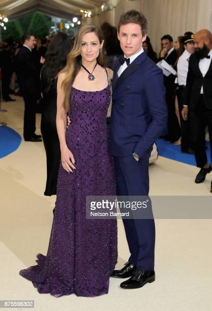 Hannah Bagshawe and Eddie Redmayne attend the 'Rei Kawakubo/Comme des Garcons Art Of The InBetween' Costume Institute Gala at Metropolitan Museum of...