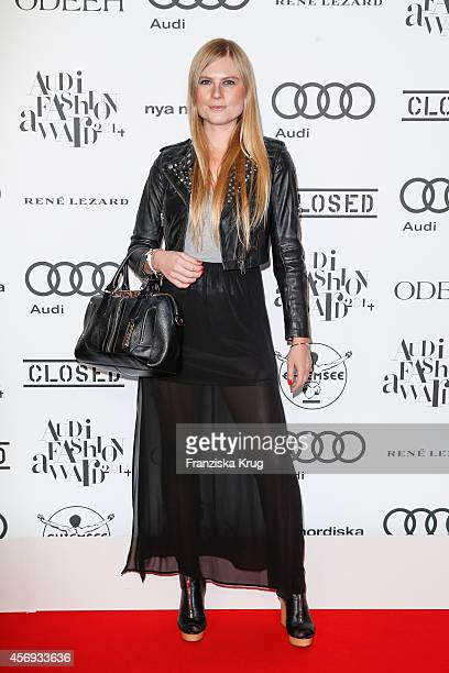 Hannah Bellmann attends the Audi Fashion Award 2014 on October 09 2014 in Hamburg Germany