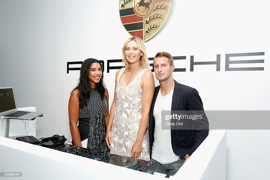 Hannah Brofman <a gi-track='captionPersonalityLinkClicked' href=/galleries/search?phrase=Maria+Sharapova&family=editorial&specificpeople=157600 ng-click='$event.stopPropagation()'>Maria Sharapova</a> and Brendan Fallis attend the CFDA Celebrates Fashion Targets Breast Cancer 20th Anniversary event with <a gi-track='captionPersonalityLinkClicked' href=/galleries/search?phrase=Maria+Sharapova&family=editorial&specificpeople=157600 ng-click='$event.stopPropagation()'>Maria Sharapova</a>, presented by Porsche at The New Museum on August 20, 2014 in New York City.