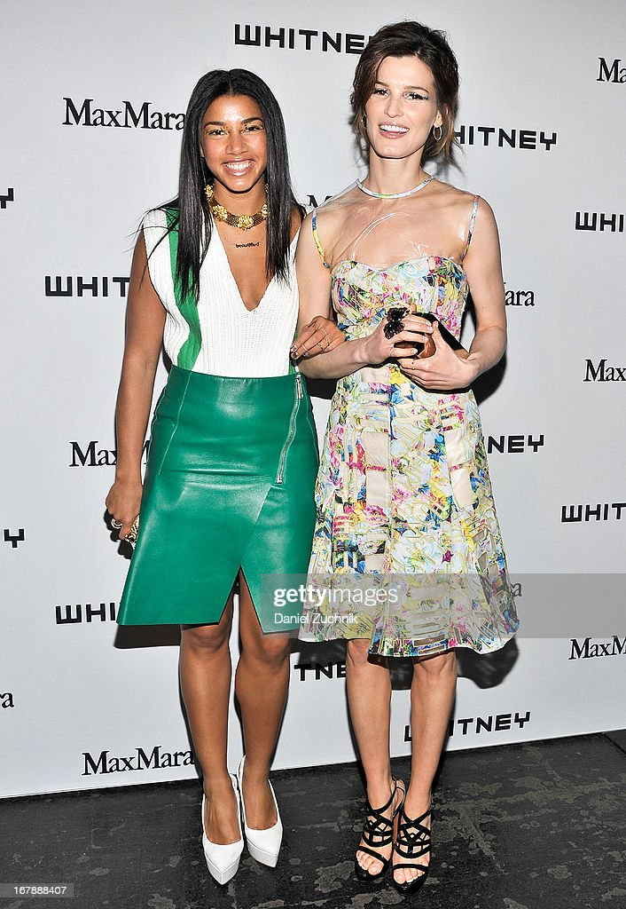 Hannah Bronfman and <a gi-track='captionPersonalityLinkClicked' href=/galleries/search?phrase=Hanneli+Mustaparta&family=editorial&specificpeople=6740316 ng-click='$event.stopPropagation()'>Hanneli Mustaparta</a> attend the 2013 Whitney Art Party at Skylight at Moynihan Station on May 1, 2013 in New York City.
