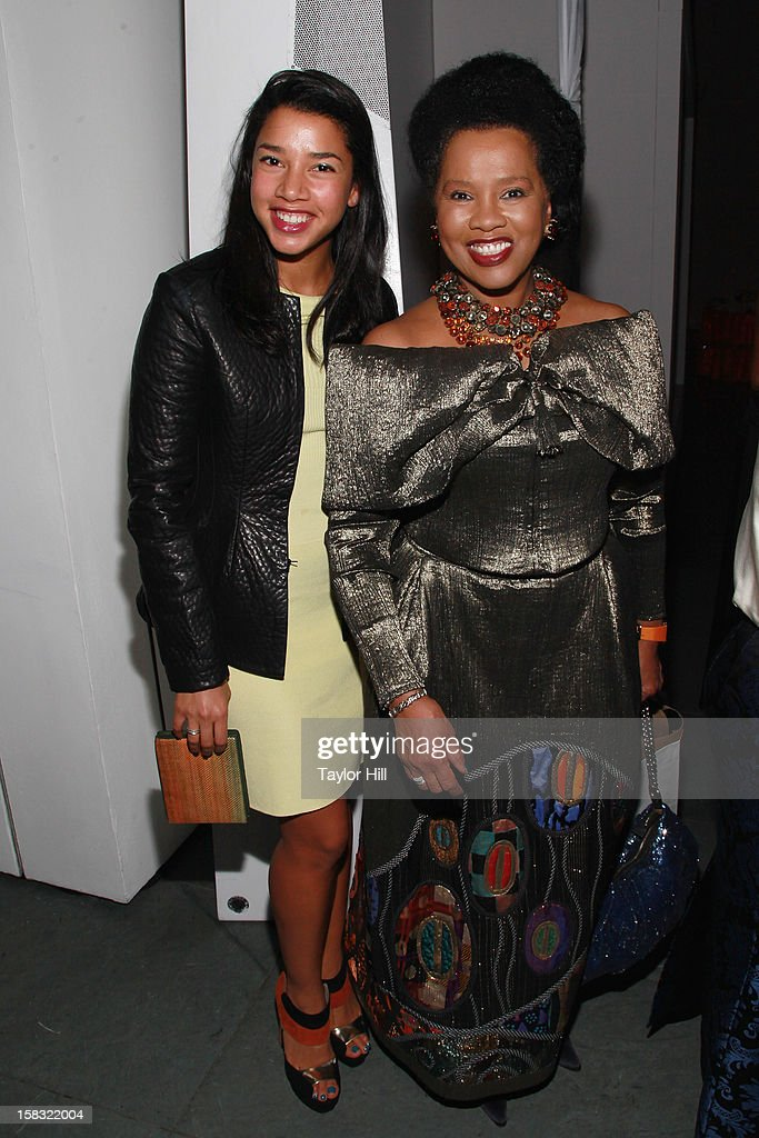 Hannah Bronfman and Sherry Bronfman attend The Museum of Modern Art's Jazz Interlude Gala After Party at MOMA on December 12, 2012 in New York City.