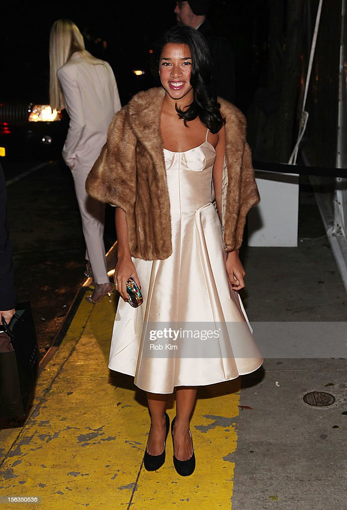 Hannah Bronfman arrives at The Ninth Annual CFDA/Vogue Fashion Fund Awards at 548 West 22nd Street on November 13, 2012 in New York City.