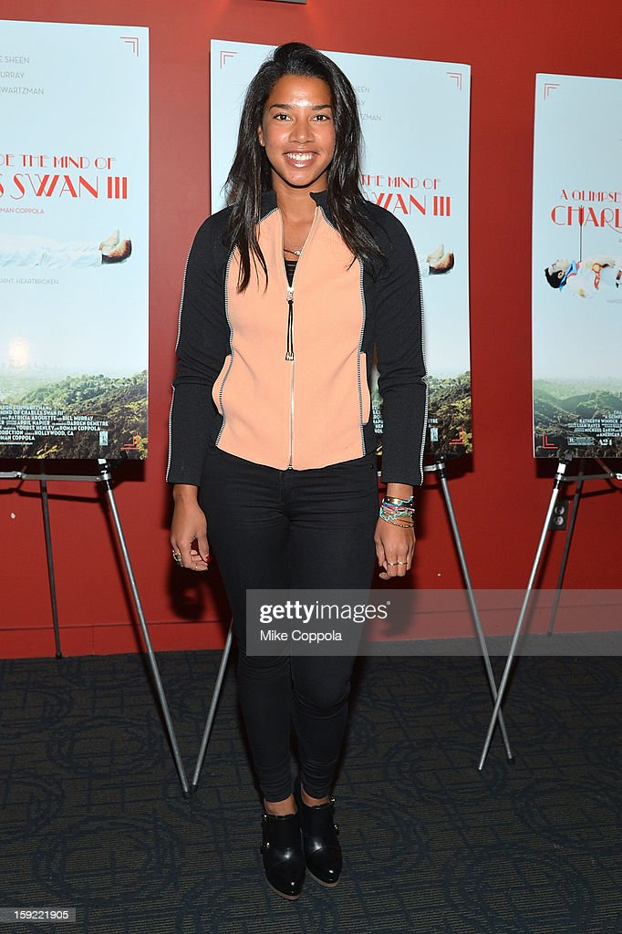 Hannah Bronfman attends a screening of 'A Glimpse Inside The Mind Of Charles Swan III' at Landmark Sunshine Cinema on January 9, 2013 in New York City.