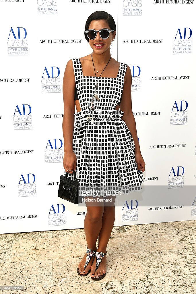 Hannah Bronfman attends AD Oasis at James Royal Palm Hotel on December 7, 2013 in Miami Beach, Florida.