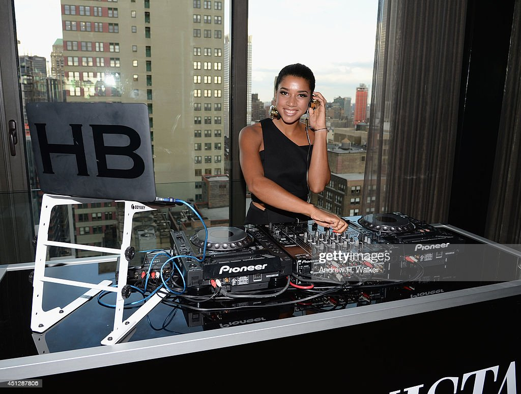 DJ <a gi-track='captionPersonalityLinkClicked' href=/galleries/search?phrase=Hannah+Bronfman&family=editorial&specificpeople=2569204 ng-click='$event.stopPropagation()'>Hannah Bronfman</a> attends Fashionista.com Celebrates 'How To Make It In Fashion' Conference With VIP Party At The Skylark In New York, NY on June 26, 2014 in New York City.