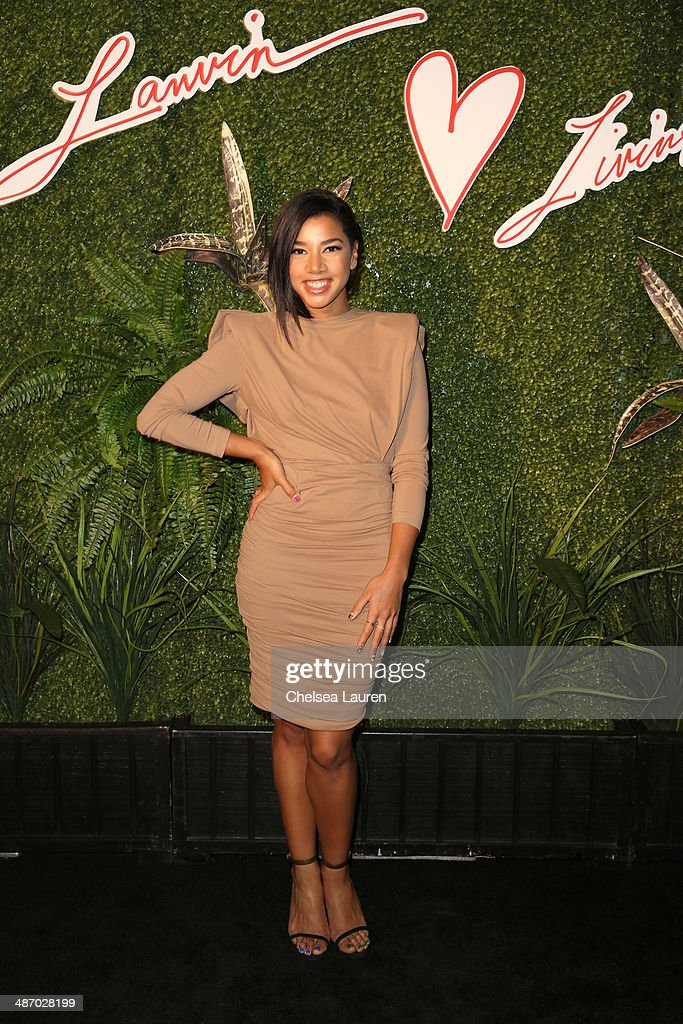 DJ Hannah Bronfman attends Lanvin And Living Beauty Host An Evening Of Fashion on April 26, 2014 in Beverly Hills, California.