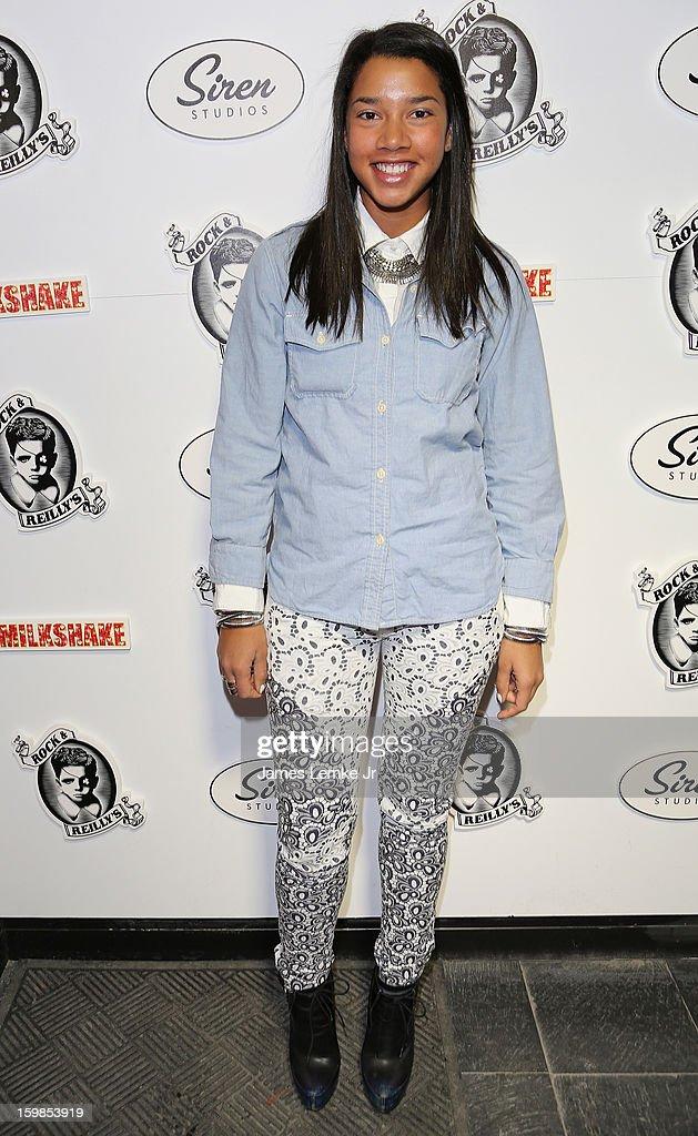 Hannah Bronfman attends 'Milkshake' Official Cast And Filmmakers Brunch Sponsored By Siren on January 20, 2013 in Park City, Utah.