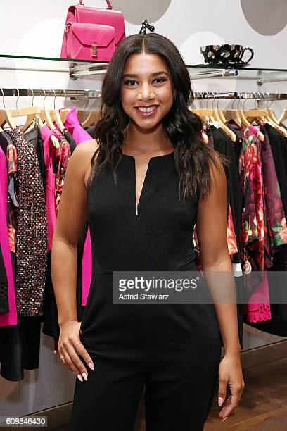 Hannah Bronfman attends Ted Baker Wooster VIP Event on September 22 2016 in New York City