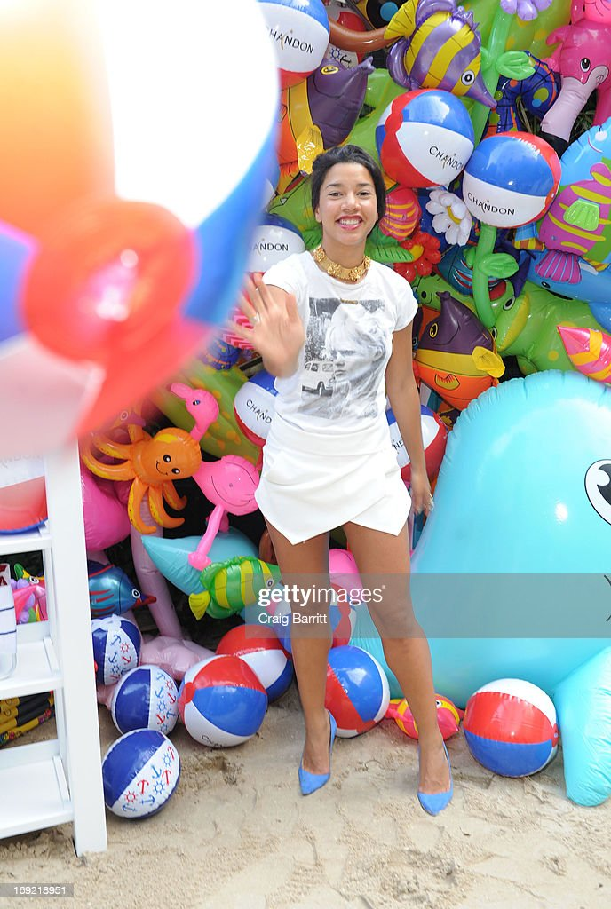 Hannah Bronfman attends the 2013 Chandon American Summer Soiree at The Beach at Dream Downtown on May 21, 2013 in New York City.