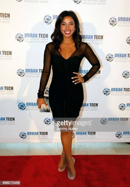 Hannah Bronfman attends the 2017 Urban Tech Gala at Gustavino's on June 14 2017 in New York City