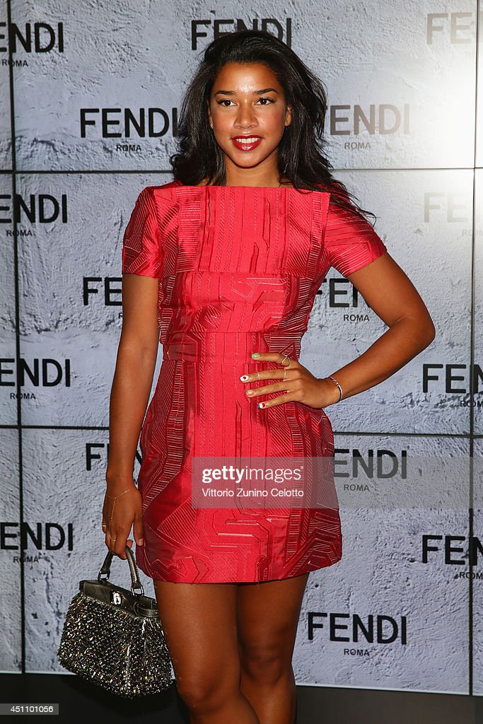 Hannah Bronfman attends the Fendi show during Milan Menswear Fashion Week Spring Summer 2015 on June 23, 2014 in Milan, Italy.