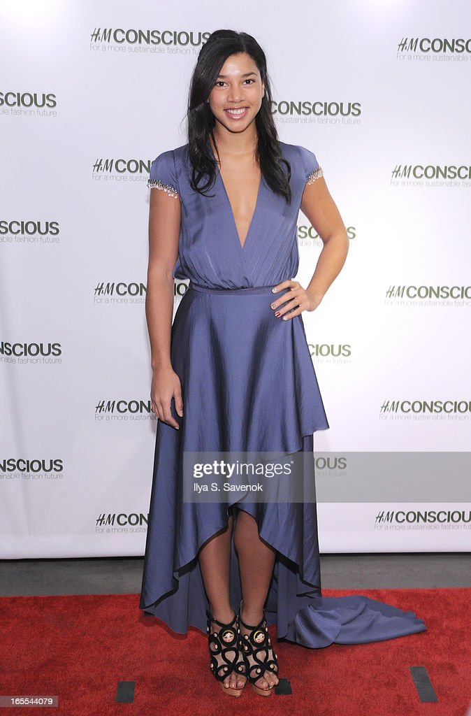 DJ Hannah Bronfman attends the H&M's Conscious Collection Launch Event at H&M Fifth Avenue on April 4, 2013 in New York City.