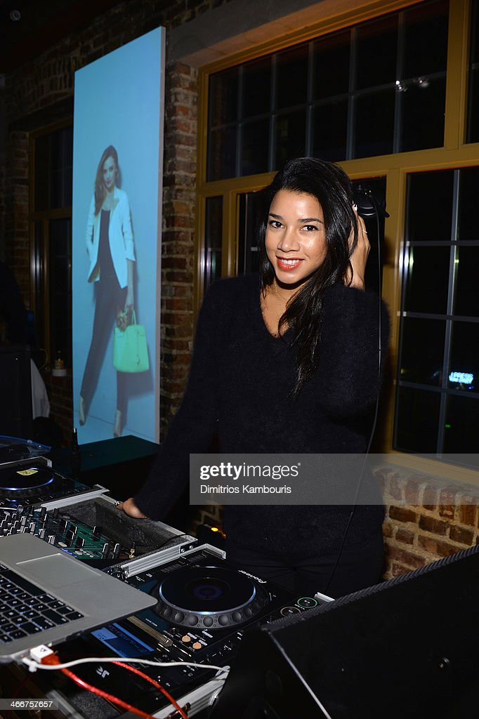 DJ <a gi-track='captionPersonalityLinkClicked' href=/galleries/search?phrase=Hannah+Bronfman&family=editorial&specificpeople=2569204 ng-click='$event.stopPropagation()'>Hannah Bronfman</a> attends the launch of We Search. We Find. We ShopStyle on February 3, 2014 in New York City.