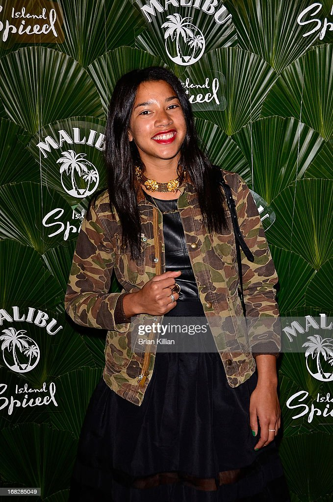 DJ Hannah Bronfman attends the Malibu Island Spiced Launch Party at PH-D Rooftop Lounge at Dream Downtown on May 7, 2013 in New York City.