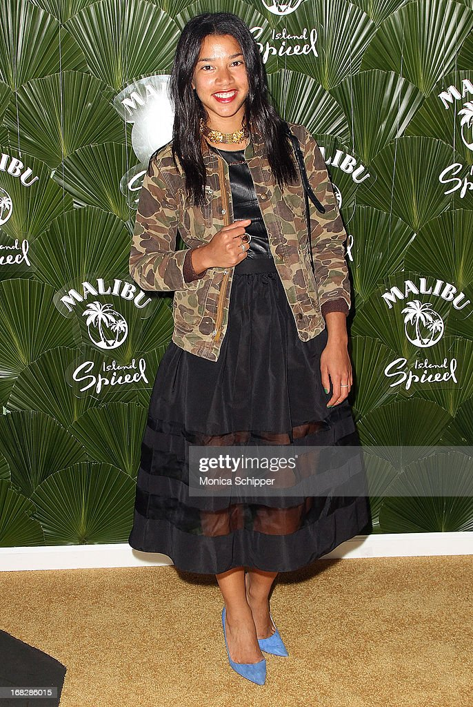 Hannah Bronfman attends the Malibu Island Spiced Launch Party at PH-D Rooftop Lounge at Dream Downtown on May 7, 2013 in New York City.