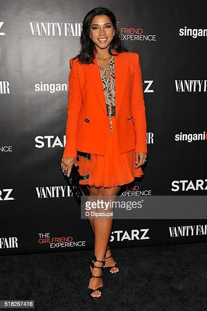 Hannah Bronfman attends the New York premiere of 'The Girlfriend Experience' at The Paris Theatre on March 30 2016 in New York City