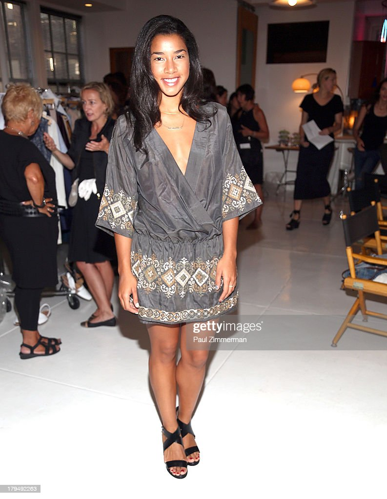 DJ Hannah Bronfman attends the Organic By John Patrick show during Spring 2014 Mercedes-Benz Fashion Week on September 4, 2013 in New York City.