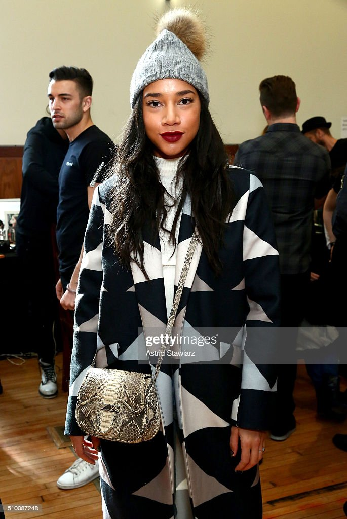 <a gi-track='captionPersonalityLinkClicked' href=/galleries/search?phrase=Hannah+Bronfman&family=editorial&specificpeople=2569204 ng-click='$event.stopPropagation()'>Hannah Bronfman</a> attends the TRESemme at Mara Hoffman A/W16 Presentation at High Line Hotel, The Refectory on February 13, 2016 in New York City.