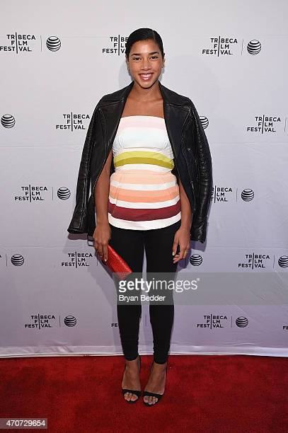Hannah Bronfman attends the Tribeca Film Festival New York Premiere Of Misery Loves Comedy An American Express Card Member Only Event At The SVA...