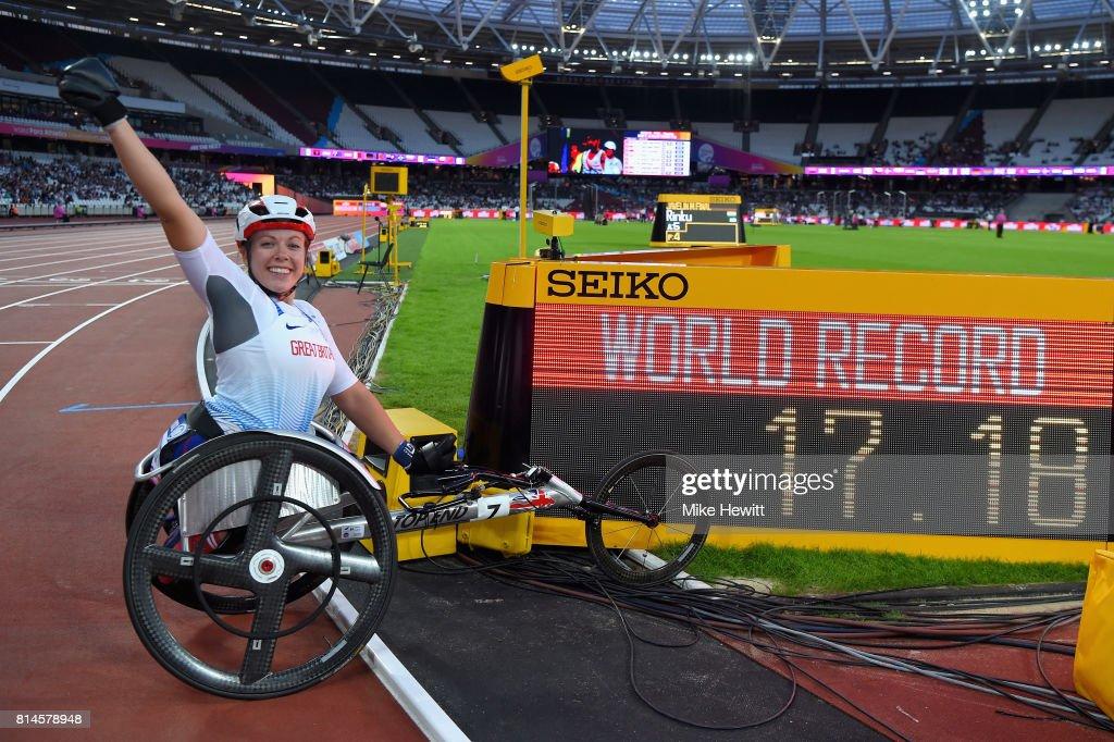 IPC World ParaAthletics Championships 2017 London - Day One