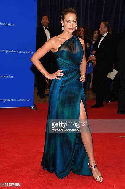 Hannah Davis attends the 101st Annual White House Correspondents' Association Dinner at the Washington Hilton on April 25 2015 in Washington DC