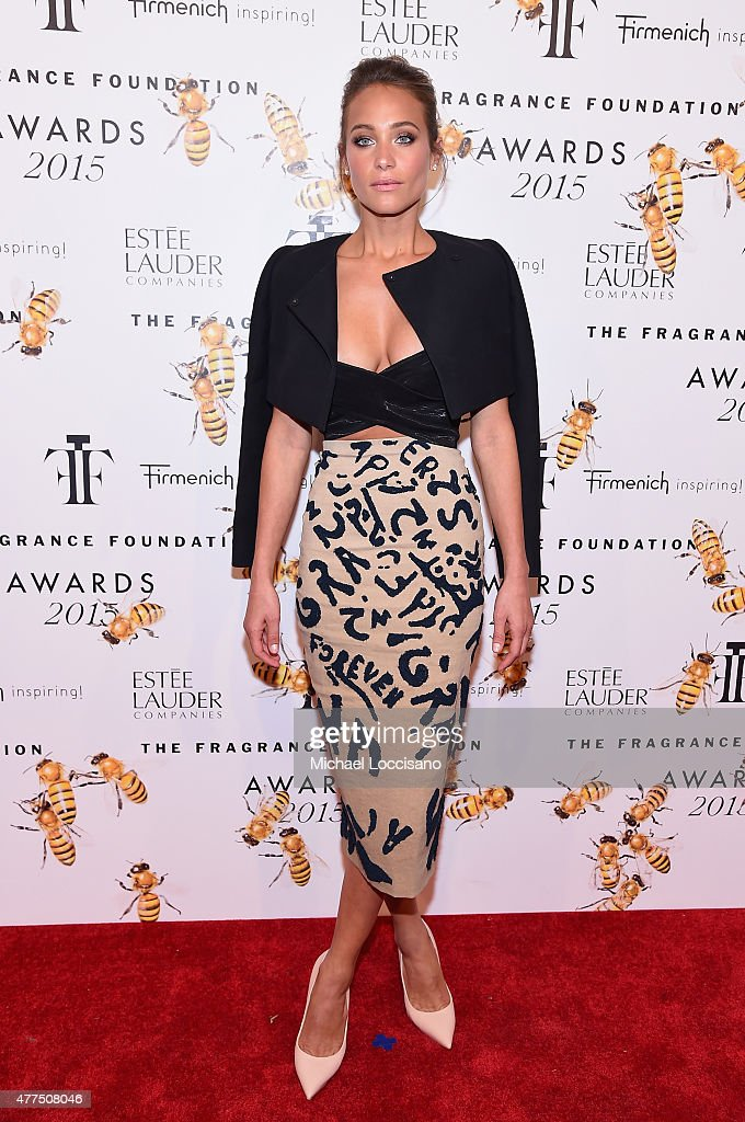 Hannah Davis attends the 2015 Fragrance Foundation Awards at Alice Tully Hall at Lincoln Center on June 17 2015 in New York City