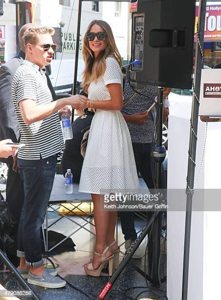 Hannah Davis is seen on June 30 2015 in Los Angeles California