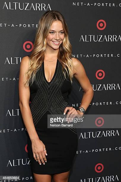 Hannah Ferguson attends the Altuzarra for Target launch event at Skylight Clarkson Sq on September 4 2014 in New York City