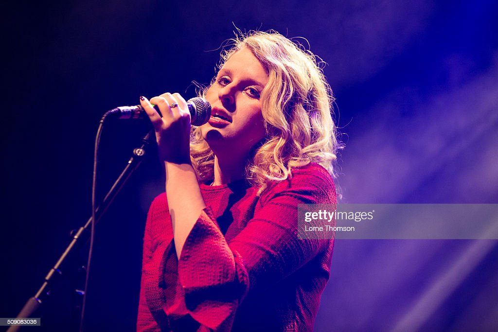 Hannah Grace performs at O2 Forum Kentish Town on February 8, 2016 in London, England.