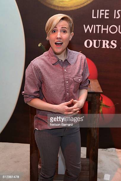 Hannah Hart attends MasterCard Preview Barilla's Italian Bites On Yhe Beach during 2016 Food Network Cooking Channel South Beach Wine Food Festival...