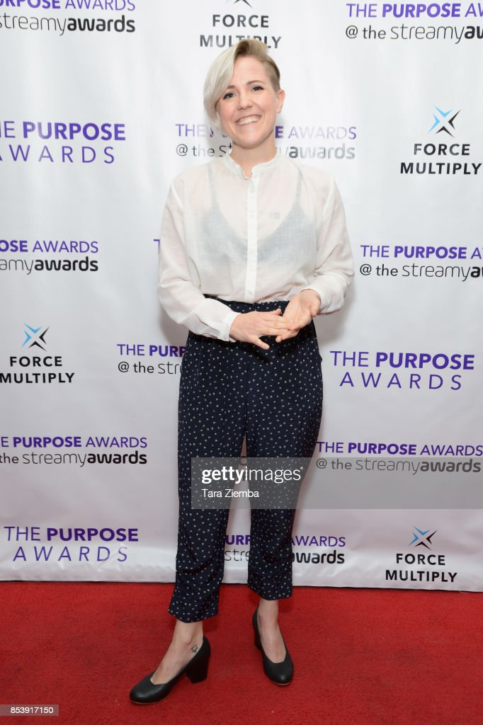 Hannah Hart Attends The Purpose Awards At The Conga Room At LA Live On  September 25 Part 59