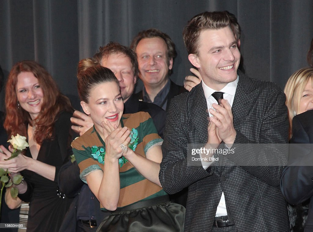Hannah Herzsprung and Friedrich Muecke attends Ludwig II - Germany Premiere at Mathaeser Filmpalast on December 13, 2012 in Munich, Germany.