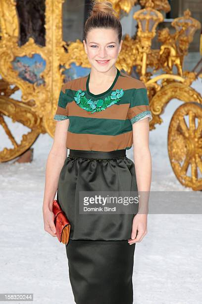 Hannah Herzsprung attends Ludwig II Germany Photocall at HVB Forum on December 13 2012 in Munich Germany