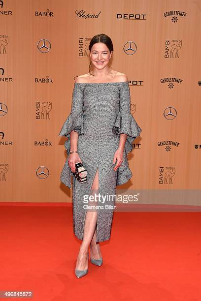 Hannah Herzsprung attends the Bambi Awards 2015 at Stage Theater on November 12 2015 in Berlin Germany