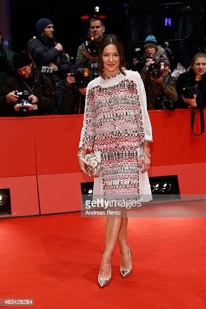 Hannah Herzsprung attends the Closing Ceremony of the 65th Berlinale International Film Festival at Berlinale Palace on February 14 2015 in Berlin...