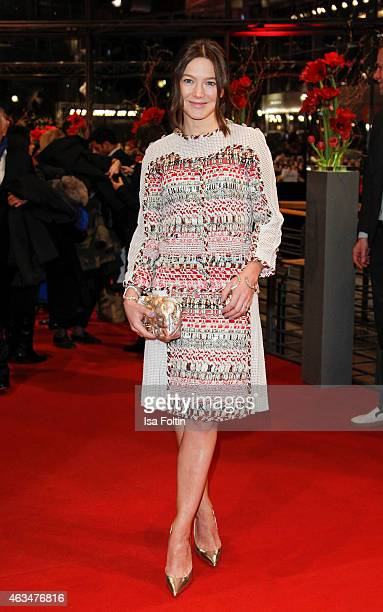 Hannah Herzsprung attends the Closing Ceremony of the 65th Berlinale International Film Festival on February 14 2015 in Berlin Germany