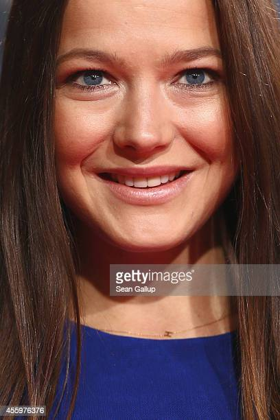 Hannah Herzsprung attends the premiere of the film 'Who am I' at Zoo Palast on September 23 2014 in Berlin Germany