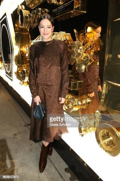 Hannah Herzsprung wearing jewelry 'JUSTE UN CLOU' by Cartier during the 'When the Ordinary becomes Precious #CartierParty Berlin' at Old Power...