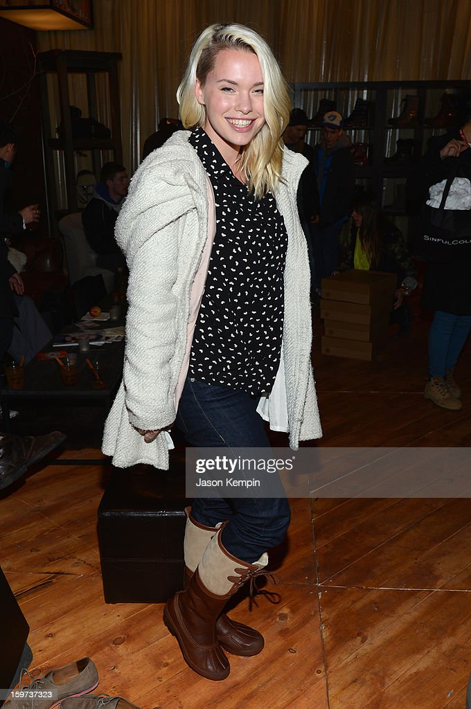 Hannah Hughes attends Day 2 of UGG at Village At The Lift 2013 on January 19, 2013 in Park City, Utah.