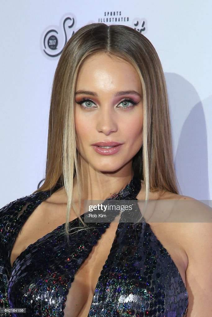 Hannah Jeter attends Sports Illustrated Swimsuit 2017 Launch Event at Center415 Event Space on February 16, 2017 in New York City.
