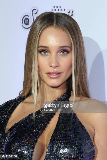 Hannah Jeter attends Sports Illustrated Swimsuit 2017 Launch Event at Center415 Event Space on February 16 2017 in New York City