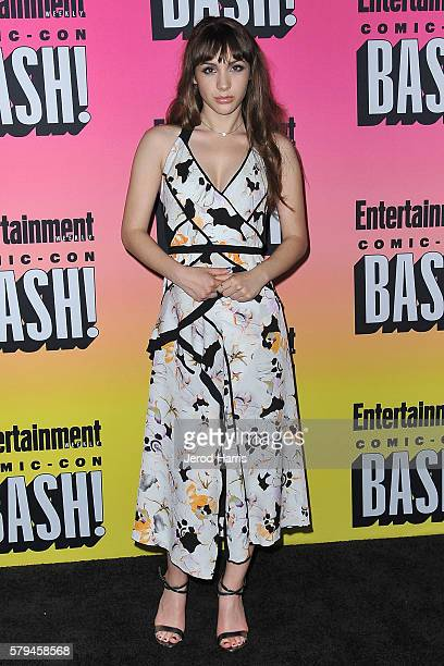 Hannah Marks arrives at Entertainment Weekly's Annual ComicCon Party at Float at Hard Rock Hotel San Diego on July 23 2016 in San Diego California
